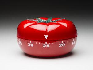 Timer em forma de tomate