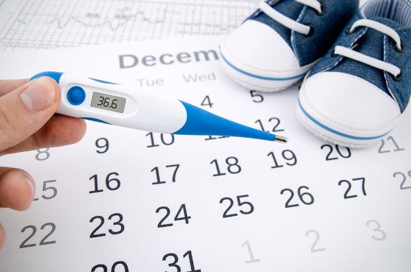 Após a ovulação, há um aumento da temperatura basal da mulher.