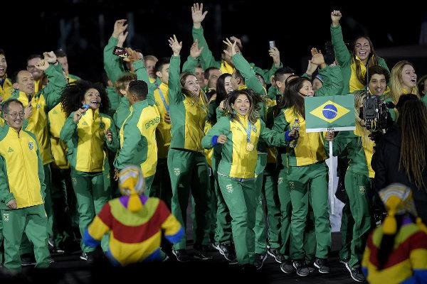 Time Brasil recordista de medalhas no Pan de 2019, em Lima. [2]