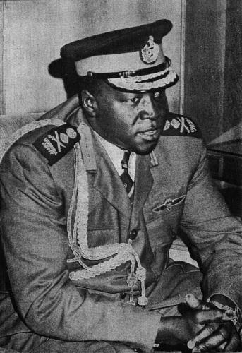 Idi Amin Dada, um dos tiranos mais sanguinários da história.