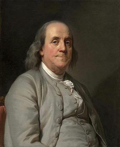 Benjamin Franklin fez parte da história norte-americana conduzindo estudos na área da eletricidade e tendo papel na independência dos EUA. [1]
