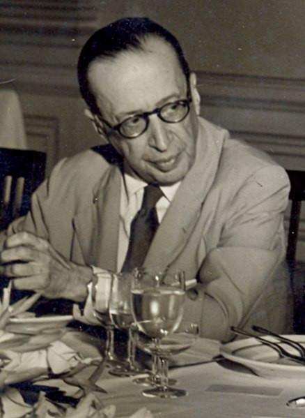 Manuel Bandeira, em 1954.