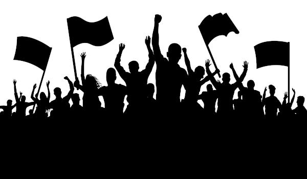 Os movimentos sociais levantam bandeiras de grupos organizados em prol de alguma causa.