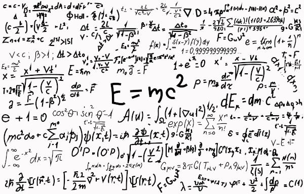 As equações estão presentes em diversos campos da ciência.