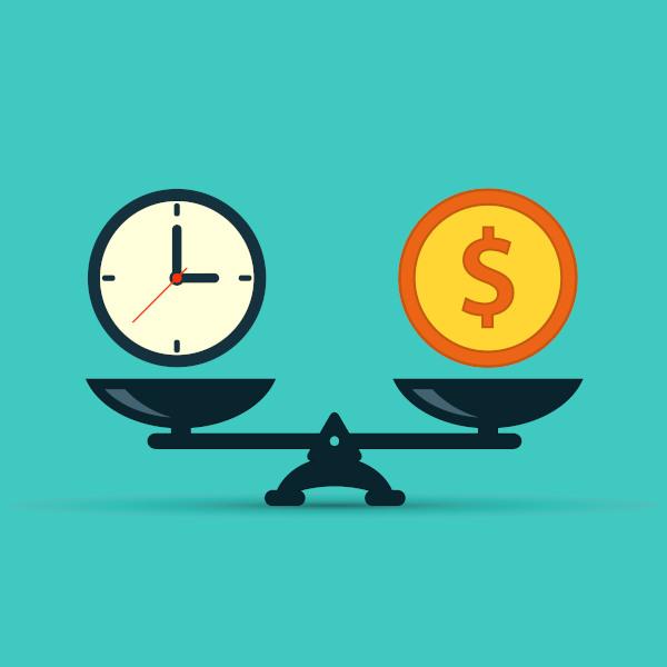 """A expressão """"Tempo é dinheiro"""" é uma metáfora."""