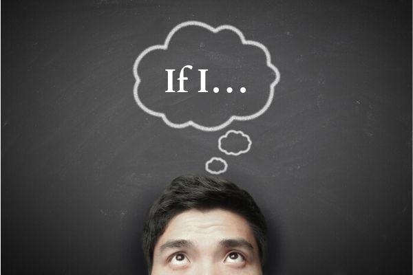 """A oração que contém a conjunção """"if"""" expressa a condição."""