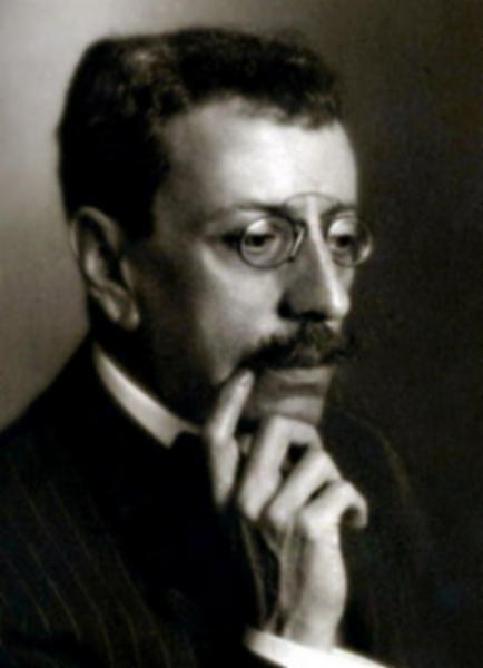 Olavo Bilac, o mais conhecido parnasiano brasileiro.