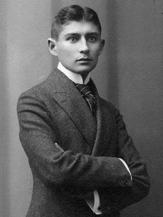 Foto de Franz Kafka, feita por Sigismund Jacobi (1860-1935), provavelmente em 1906.