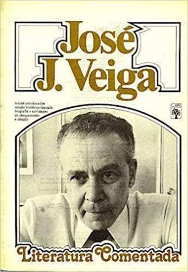José J. Veiga (foto de capa) — Coleção Literatura Comentada, da editora Abril. [1]