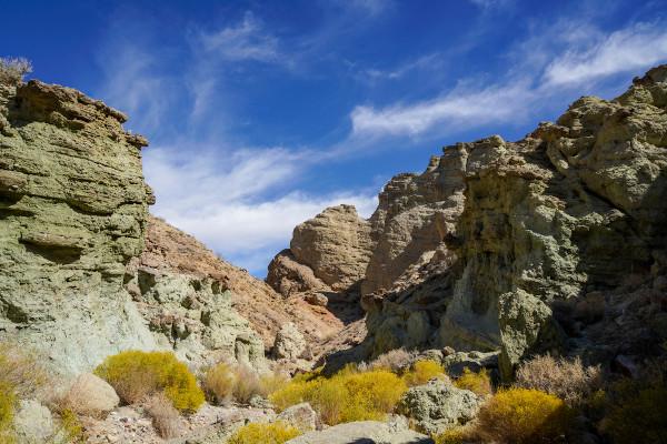 Rochas sedimentares em bacia sedimentar – Estados Unidos.