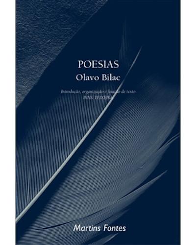 Capa do livro Poesias, de Olavo Bilac, publicado pela editora Martins Fontes.[1]