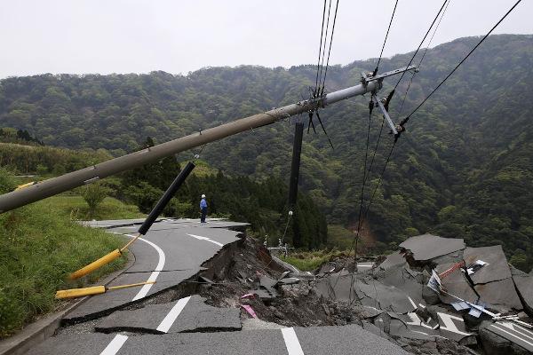 A destruição de um terremoto pode ter várias consequências.