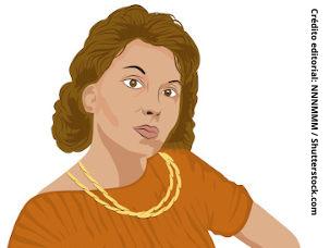 ilustração representando Clarice Lispector