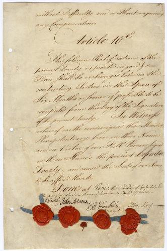 Até o século XIX, somente os documentos escritos oficiais, como o Tratado de Paris de 1783, eram considerados fontes históricas.