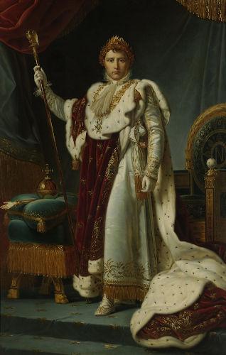 A coroação de Napoleão como imperador, em 1804, foi parte do projeto de poder do militar francês.