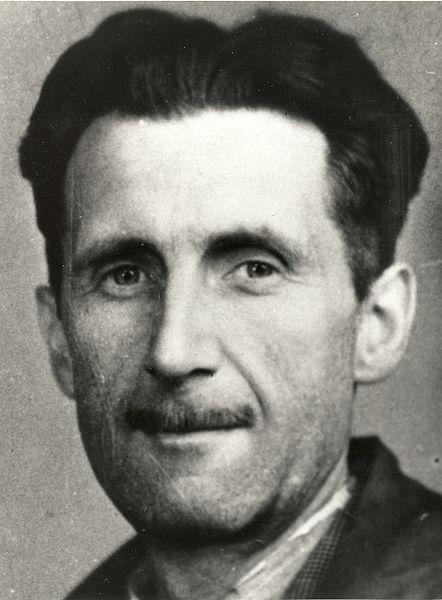 """George Orwell é autor de """"A revolução dos bichos"""" e """"1984""""."""