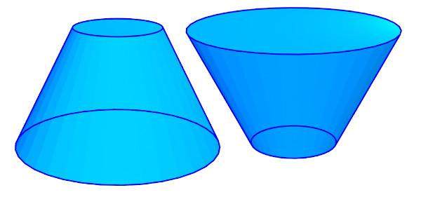 Tronco de um cone