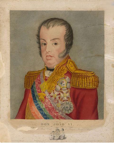 Dom João VI foi responsável pela assinatura do documento que permitiu a abertura dos portos brasileiros às nações amigas.