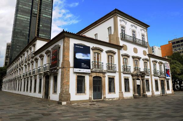 Paço Real, onde d. Pedro anunciou sua permanência no Brasil, em 9 de janeiro de 1822.[1]