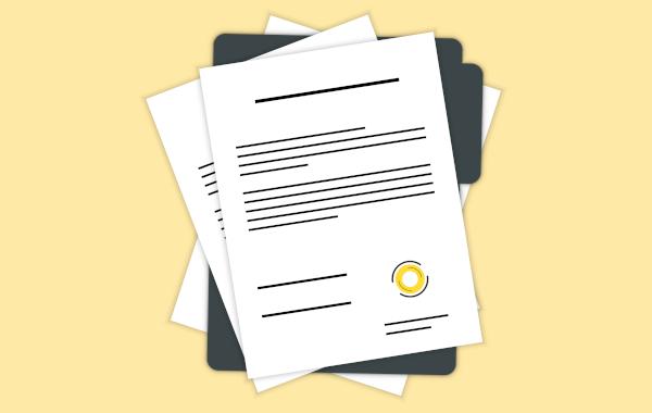 O requerimento é um documento que serve para apresentar uma solicitação.