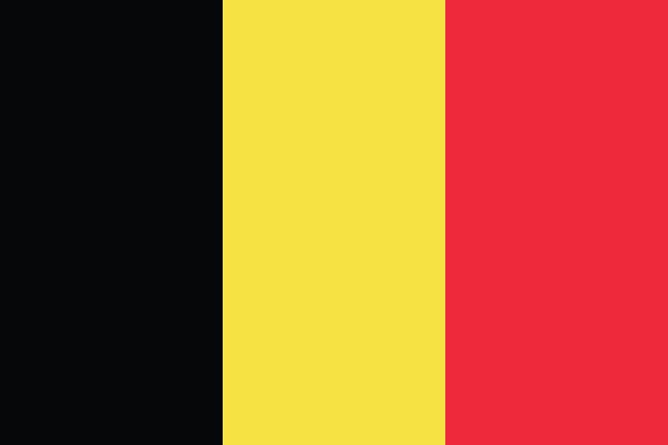 Bandeira belga.