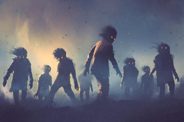 O corpo-seco é uma espécie de morto-vivo que não foi aceito no céu e no inferno e foi expelido pela terra.