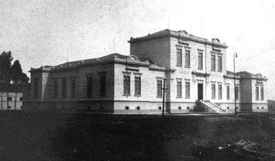 Instituto Butantan em 1914.