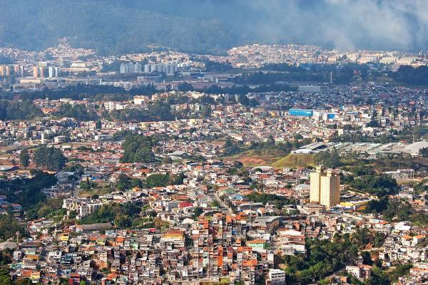 A cidade de São Paulo é um exemplo de cidade macrocefálica.