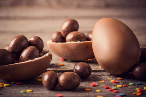 Somente no século XVIII, o ovo de Páscoa começou a ser produzido de chocolate.