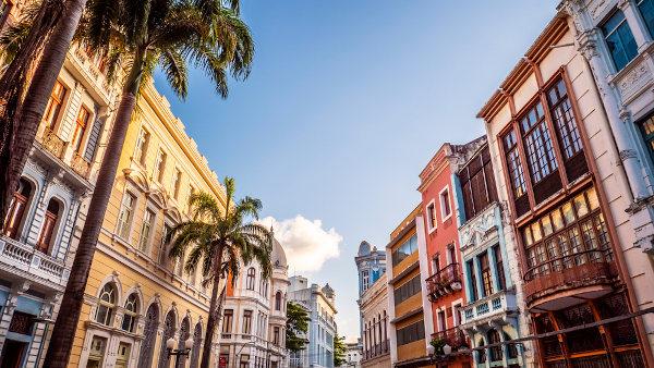 Centro histórico de Recife, Pernambuco. [2]