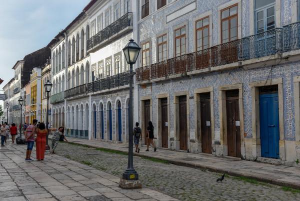 O centro histórico da capital do Maranhão, São Luís, é muito rico e representativo dos processos históricos locais.[1]