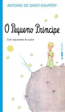 """Capa do livro """"O pequeno príncipe"""", de Antoine de Saint-Exupéry, publicado pela editora L&PM.[2]"""