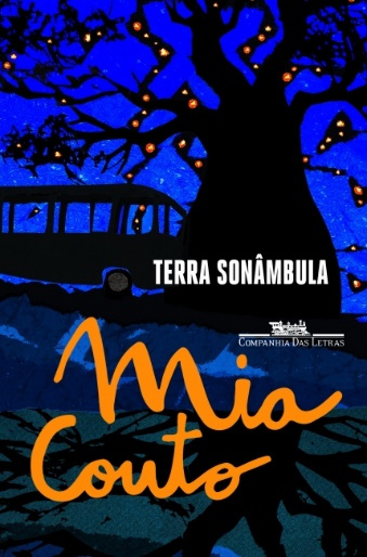 Capa do livro Terra sonâmbula, de Mia Couto, publicado pela editora Companhia das Letras. [1]