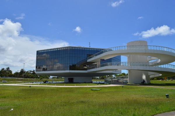 Vista da Estação Cabo Branco em João Pessoa. [2]