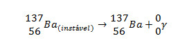Estabilização do bário-137
