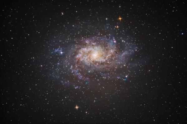 Galáxia do Triângulo ou Messier 33.