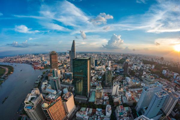 Ho Chi Minh, cidade mais populosa do Vietnã.