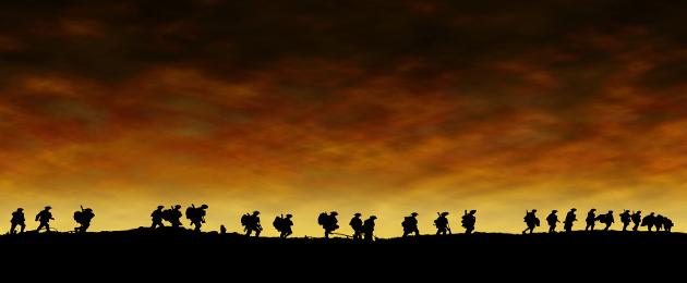 O natal trouxe trégua para uma das piores guerras da História!