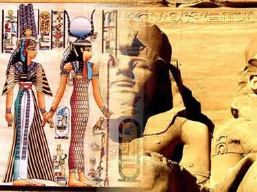 A arte egípcia esteve fortemente influenciada pelos preceitos religiosos de sua cultura.