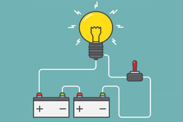 A associação em série permite que apliquemos maiores tensões elétricas sobre os circuitos.