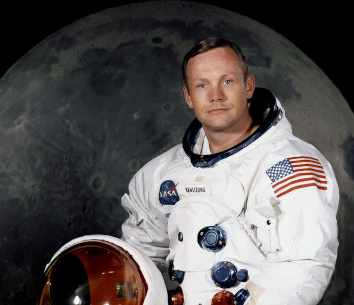 Neil Armstrong foi o primeiro homem a pisar sobre a superfície da Lua. (Créditos da imagem: Nasa / Reprodução)