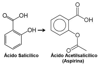 Ácido salicílico e ácido acetilsalicílico