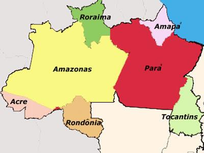 Características gerais da Região Norte.