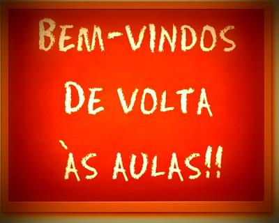 Início De Mais Um Ano Letivo Boas Vindas Brasil Escola
