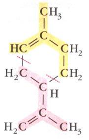Fórmula estrutural do limoneno