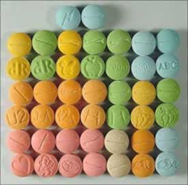 O ecstasy é uma droga psicoativa que pode levar o indivíduo à morte
