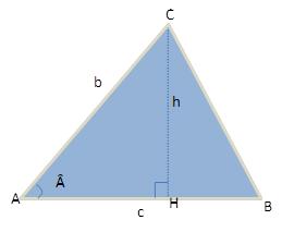 Figura de um triângulo qualquer