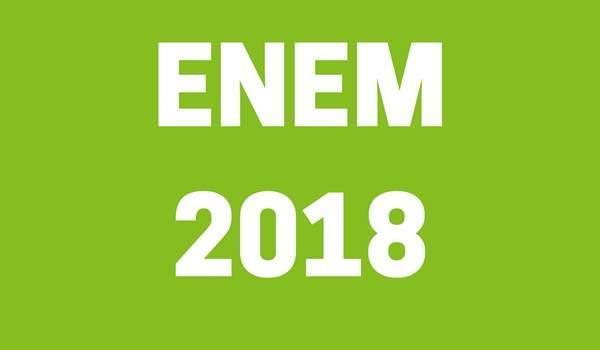 ENEM 2018: Solicitação de isenção de pagamento começa dia 2 de abril