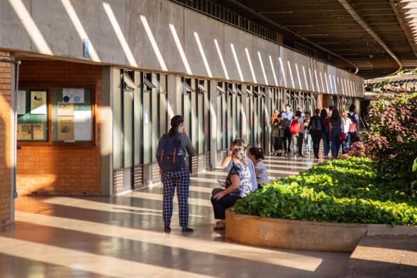 Campus da UnB, em Brasília