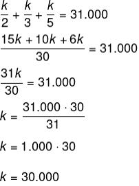Coeficiente de proporção do valor pelo tempo de uso da máquina.